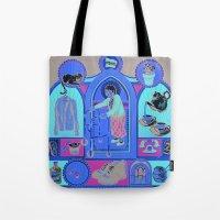 Ye Oldé Grandma Triptych Tote Bag