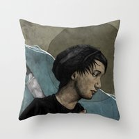 Lost in the Ocean Throw Pillow
