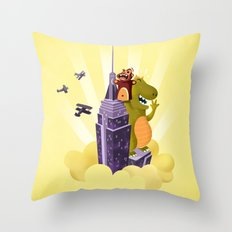 The puppeteer Throw Pillow