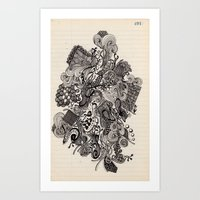 Untitled Vomit Art Print