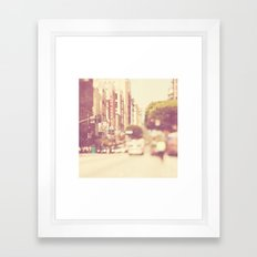 A Memory. Downtown Los A… Framed Art Print