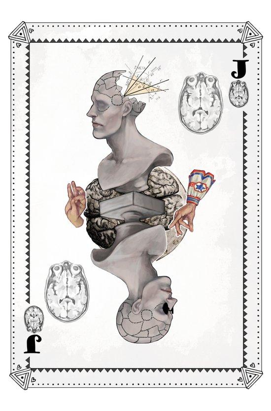 Jack of Brains Art Print