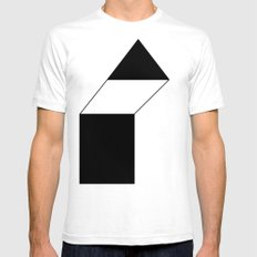 haus 1 Mens Fitted Tee SMALL White