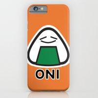 Oni the Onigiri, Kawaii iPhone 6 Slim Case
