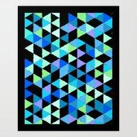 Colorful Flag Art Print