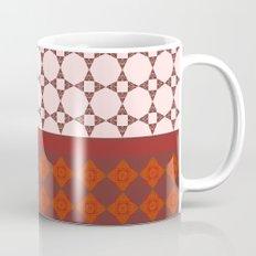 Diamond patterns Mug