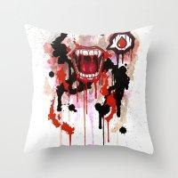 Vampire Throw Pillow