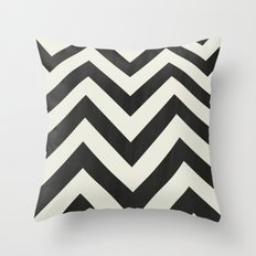 Twin Peaks Minimalist Poster Throw Pillow