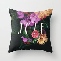 Joie Throw Pillow