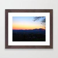 Mt. Diablo Framed Art Print