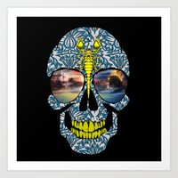 DEAD SKULL  Art Print
