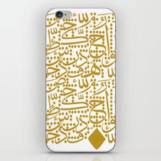 arabic Letters  iPhone & iPod Skin