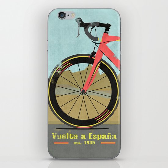 Vuelta a Espana Bike iPhone & iPod Skin