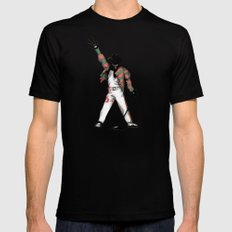 Scream Queen Mens Fitted Tee Black SMALL