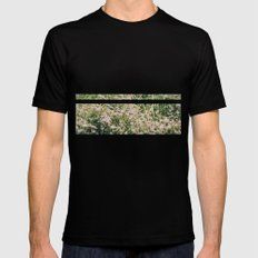 Bloomed Mens Fitted Tee Black SMALL