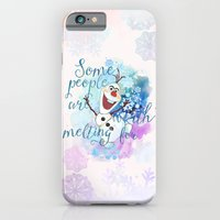Some People Are Worth Melting For. iPhone 6 Slim Case