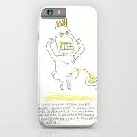 iPhone & iPod Case featuring Pinkel Porky by Anne Wenkel // Illustration & Fine Art