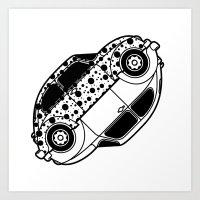 VW Yin Yang Art Print
