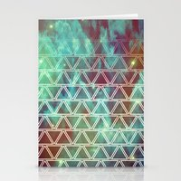 Geo Fade Stationery Cards