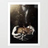Dear Offering Art Print
