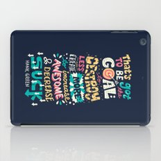 Increase Awesome, Decrease Suck iPad Case
