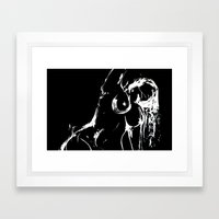 Reach 2 Framed Art Print