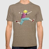 Keen Mens Fitted Tee Tri-Coffee SMALL