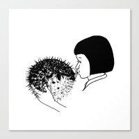 fugu Canvas Print