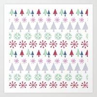 Christmas Design Art Print