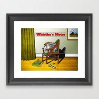 Whistler's Motor Framed Art Print
