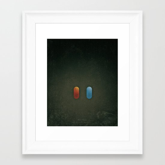 SMOOTH MINIMALISM - Matrix Framed Art Print