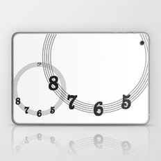5 6 7 8 Bass Clef Laptop & iPad Skin