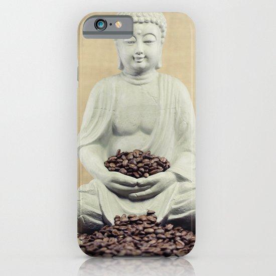 Coffee beans Buddha 3 iPhone & iPod Case
