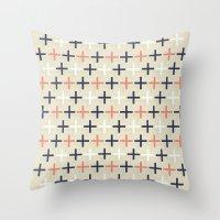 Midcentury Pattern 04 Throw Pillow