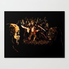 The Last Stand! Canvas Print