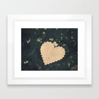 With Music in Her Heart - ANALOG zine Framed Art Print
