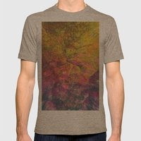 NEON MOUNTAINS / PATTERN SERIES 006 Mens Fitted Tee Tri-Coffee SMALL