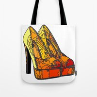 Shoe 3 Tote Bag