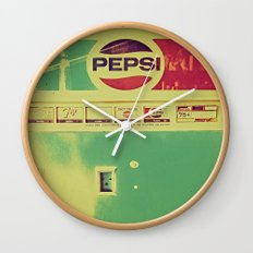 Say Pepsi! Wall Clock