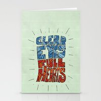 Clear Eyes, Full Hearts.… Stationery Cards