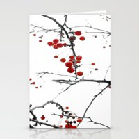 Little Red Kisses Stationery Cards
