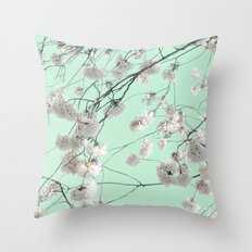 Canopy of Blossoms Throw Pillow