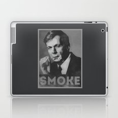 Smoke! Funny Obama Hope Parody (Smoking Man)  Laptop & iPad Skin