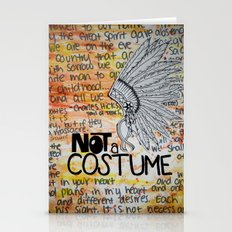 Not A Costume. Stationery Cards