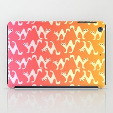 Scared cats iPad Case