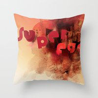 freud's superego Throw Pillow