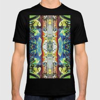 It's A Beautiful Day Mens Fitted Tee Black SMALL