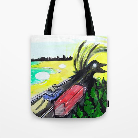 """Summer Tours"" by Cap Blackard Tote Bag"