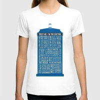 doctor who T-shirts featuring Doctor Who  by Luke Eckstein