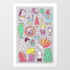 Yokai / Japanese Superna… Art Print